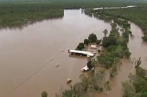Наводнение на севере Австралии