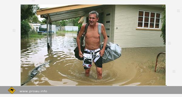 В Австралии эвакуируют жителей из-за угрозы наводнения