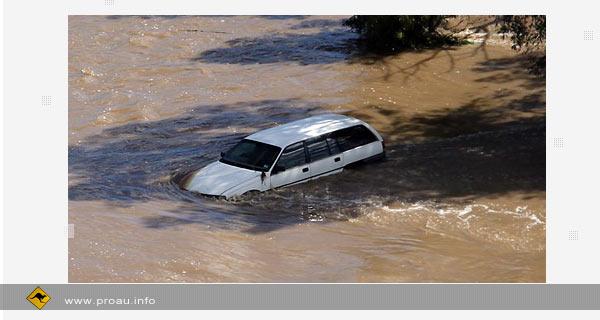 Катастрофическое наводнение в штате NSW, Австралия. Фото