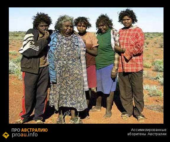 Ассимилированные аборигены Австралии