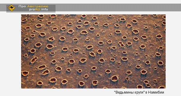 """""""Ведьмины круги"""" в Намибии"""