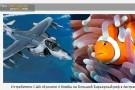 Истребители США сбросили 4 бомбы на Большой Барьерный риф в Австралии