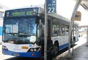 Сидней. Автобус